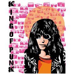 Estampa para camiseta Ramones 002130