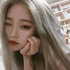 Naughty or nice Pretty Korean Girls, Cute Korean Girl, Korean Aesthetic, Aesthetic Girl, Korean Beauty, Asian Beauty, Blonde Asian, Chica Cool, Jung So Min