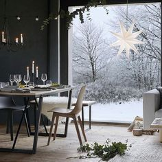 The defintion og hygge As the nights are getting longer and the winter is fast approaching, a warm and cozy indoor space is the epitome of the Scandinavian hygge. We love the classic star lantern from @ikeauk #hygge #prechristmas #advent #scandinavianchristmas