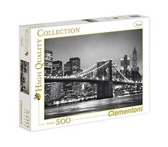 Clementoni New York Puzzle Yorkie, Board Games, Jigsaw Puzzles, Hobbies, New York, Toys, Frame, Classic, Elegant