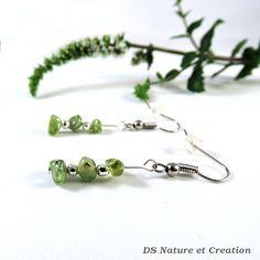 Gemstone jewelry peridot earrings healing by DSNatureetCreation https://www.etsy.com/listing/244436161/gemstone-jewelry-peridot-earrings