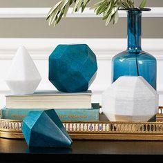 Polyhedron Objects #westelm