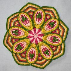 Mandala No 2  Overlay Crochet   Pattern  PDF by CAROcreated, €4.50