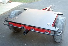 Bolt-together fiberglass Jeep-tub trailer kit - Expedition Portal Trailer Kits, Kayak Trailer, Off Road Camper Trailer, Trailer Build, Utility Trailer, Utv Trailers, Best Trailers, Custom Trailers, Expedition Trailer