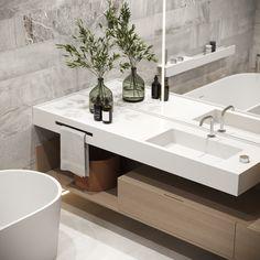Master bathroom #masterbathroom #modernbathroom #minimalisticbathroom #ideasforbathroom #minimalism #minimalisticarchitecture #minimalisticinterior #architecture #modernarchitecture #design #minimalisticdesign #bathroom Minimalist Interior, Minimalist Design, Modern Bathroom, Master Bathroom, Minimalism, Double Vanity, Modern Architecture, House, Art