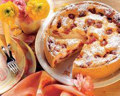 Tartă cu brânză şi fructe