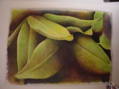 My Leaves,135/200cm, oil on canvas