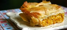 30 Savory Pumpkin Recipes That'll Make You Forget All About Pumpkin Pie (Pictured: Kolokithopita/Savory Greek Pumpkin Pie via My Retro Kitchen) Pumpkin Tarts, Pumpkin Dishes, Savory Pumpkin Recipes, Savoury Recipes, Dessert Bars, Dessert Recipes, Desserts, Yummy Recipes, Albanian Recipes