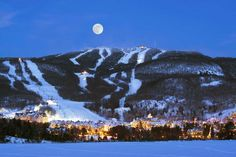 Mont Tremblant, Quebec, Canada + 25 best ski resorts in the world Ski Vacation, Vacation Spots, Ski Mont Tremblant, Ottawa, The Places Youll Go, Places To Visit, Ski Packages, Ski Hill, South America Destinations