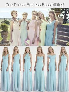 Bridesmaids Dress Choice Chosen Just Needs To Be In A Purple Lavender Shade And Convertible