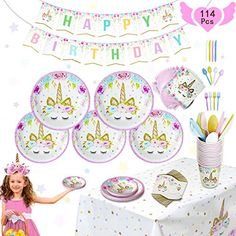 Industrious 3 Style Party Happy Birthday Unicorn Banner Backdrop Supplies Baby Shower Party Flags Unicorn Banner Decoration Supplies Clear And Distinctive Festive & Party Supplies