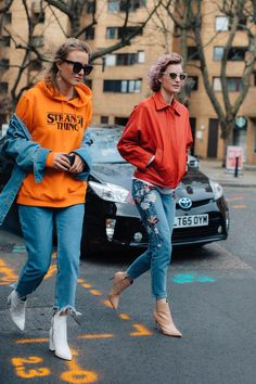 See the best looks captured by Sandra Semburg on the streets of London this Fashion Week.