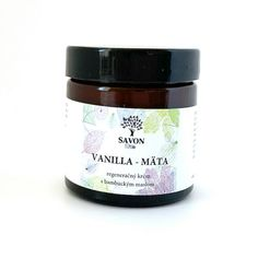 Regenerační krém Vanilla a Máta 60 ml Savon Vanilla, Desserts, Soap, Tailgate Desserts, Deserts, Postres, Dessert, Plated Desserts