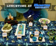 Real Party/Fiesta Friday - Lunchtime At Monsters University