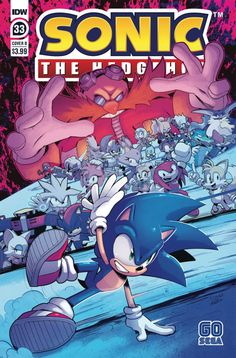 Sonic The Hedgehog Comic Book Series Welcomes Longtime Artist Evan Stanley as Ongoing Writer Sonic Book, Sonic Art, Anime D, 8 Bits, Sonic And Shadow, New Readers, Penguin Random House, Comic Covers, Book Series