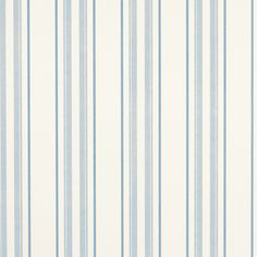 This two-toned Hadley Stripe wallpaper in fresh seaspray tones provides a perfect backdrop for stylish living.