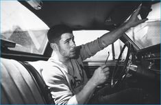 Nick Jonas goes for a drive with Wonderland magazine for its fall 2016 issue.