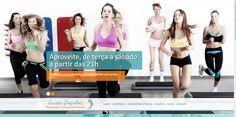 Luciana Consultoria Fitness - Desenvolvimento de Site e CMS