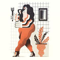 "banachkarol: ""#illustration #karolbanach #ilustracja #illustrator #draw…"