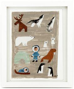 Winter Friends, Christian Robinson $380
