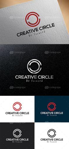 Creative Circle Logo Template - http://www.codegrape.com/item/creative-circle-logo-template/8108