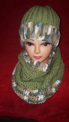Hat and cowl set #crochet