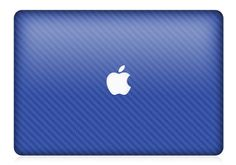 MacBook Pro or Air Brithg Blue Carbon Fiber Skin by iCoverSkin, $49.99