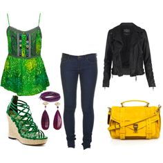 Going Green with Style, created by thewickedem.polyvore.com