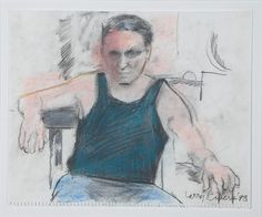1998 Self Portrait, Larry Rivers