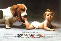 Hush Puppies for little feet