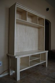 "72"" entertainment center DIY - Google Search"