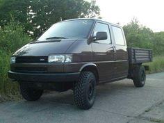 Vw T4 Syncro, Vw Doka, Wagon R, Chuck Wagon, Vw Modelle, Volkswagen 181, T4 Camper, Cool Vans, Van Camping