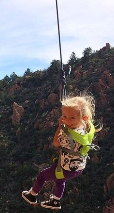 This takes mother-daughter bonding to a whole new level. This three-year-old goes rock climbing with her mom