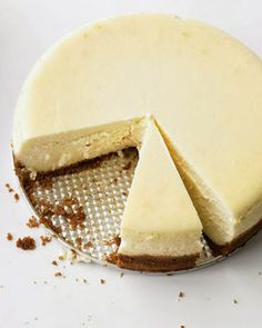Classic Cheesecake ~ A crumbly graham cracker crust and silky cream cheese filling make this New York-style cheesecake a winner,,