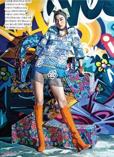 Ji Hye Park by Hyea Won Kang for Vogue Korea February 2014 1