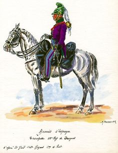 French; 13th Dragoons, Trumpeter in Spain