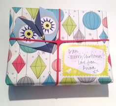 Origami Notepaper Set : Owl