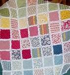lots of baby blanket ideas.    baby Quilt Pattern -use primary colors like the rainbow or polk a dots