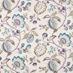 Warwick Fabrics : PILSBURY, Colour AMETHYST