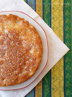 Torta al cocco e pere, ricetta dolce vegano (senza uova e senza grassi aggiunti) | Alice nella cucina delle meraviglie