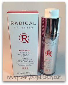 Pammy Blogs Beauty: Radical Skincare: Advanced Peptide Antioxidant Serum