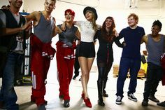 Image result for back stage taylor swift tour