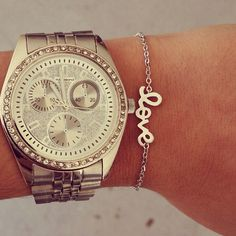 Silver love bracelets… Simply perfect!