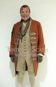 Gilberto Fusi, costumi di Jean-Pierre Ponnelle, regia di Jean-Pierre Ponnelle ripresa da Lorenza Cantini, Teatro alla Scala, Milano, 2010.