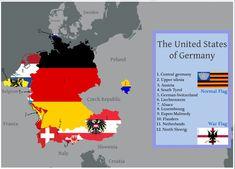 The United States of Greater Germany by IasonKeltenkreuzler