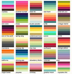 some color schemes