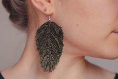 Lily, Drop Earrings, Jewelry, Jewlery, Jewerly, Schmuck, Orchids, Drop Earring, Jewels