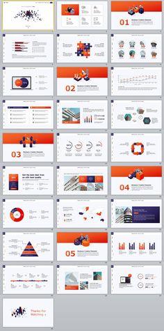 28+ Business chart PowerPoint Presentations template