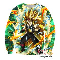 DBZ Interval Time of Awakening Super Saiyan 3 Bardock T-Shirt - Dragon Ball Z 3D Shirts And Clothing
