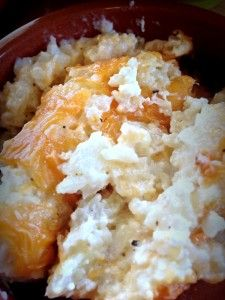 Low Carb Cauliflower Cheese casserole